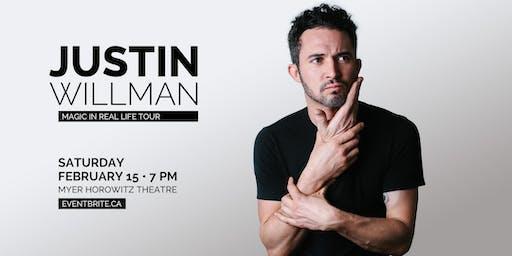 JUSTIN WILLMAN: MAGIC IN REAL LIFE TOUR