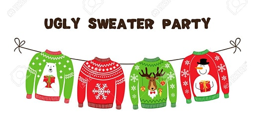 Annual ugly sweater holiday party