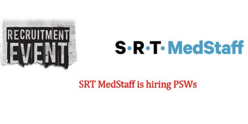 HIRING EVENT: SRT MedStaff