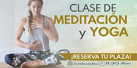 Meditacion y Yoga tickets