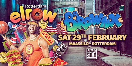 elrow Rotterdam - Brownx tickets