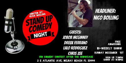 Comedy Night and Comedy Contest at Bull Bar