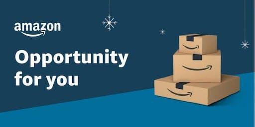 Amazon Warehouse Seasonal Holiday Hiring Event