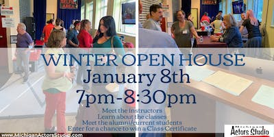 Free Winter Open House at Michigan Actors Studio