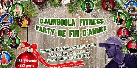 Giga Masterclasse Djamboola Fitness de fin d'année tickets