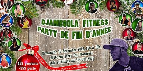 Giga Masterclasse Djamboola Fitness de fin d'année billets
