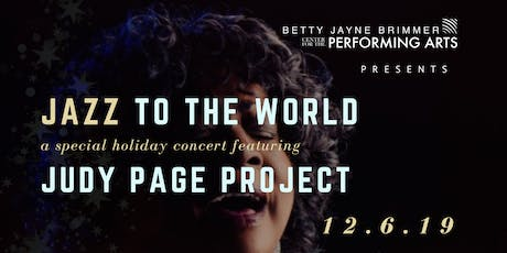 Jazz to the World! A Judy Page Project tickets