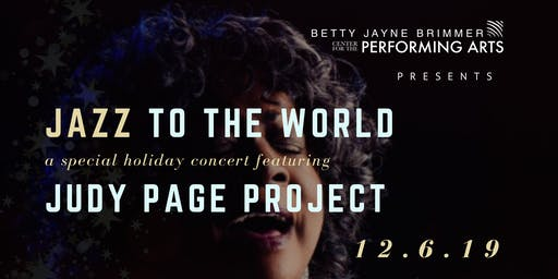 Jazz to the World! A Judy Page Project