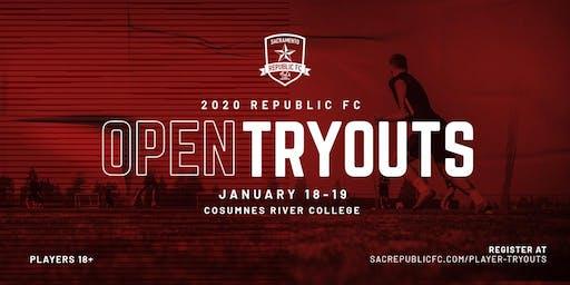 Republic FC Open Tryouts (1/18/2020 - 1/19/2020)
