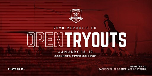 Republic FC Open Tryouts (1/18/2020 - 1/19/2020)