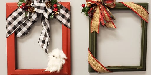 Frame Wreath Workshop