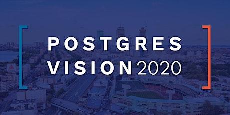 Postgres Vision 2020 tickets