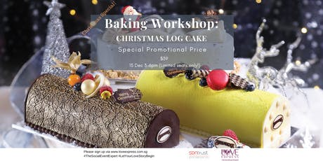 15 DEC: CHRISTMAS SPECIAL! – BAKE A LOG CAKE, MAKE A FRIEND tickets
