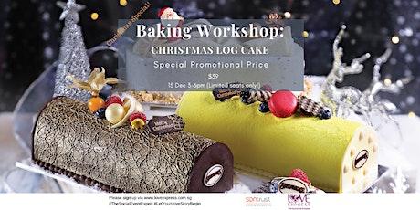 15 DEC: CHRISTMAS SPECIAL! – BAKE A LOG CAKE, MAKE A FRIEND tickets