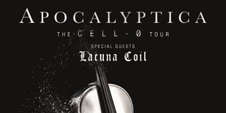 APOCALYPTICA - CELL-0 TOUR tickets