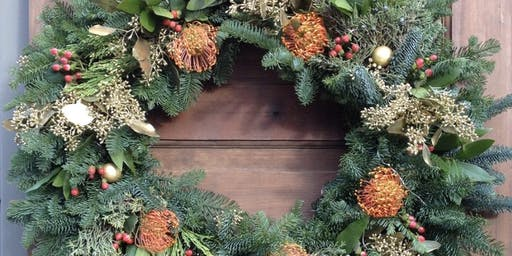 RCMP Holiday Wreath Workshop at Arthouse