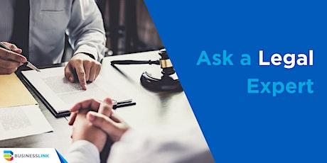 Ask a Legal Expert - Jan 8/20 tickets