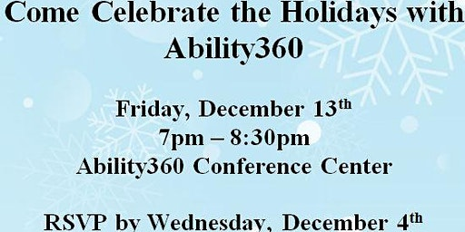 Ability360 Volunteer Holiday Party 2019