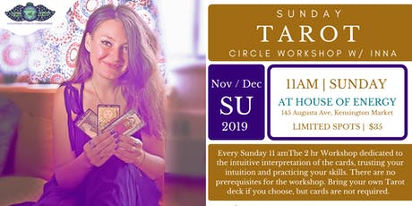 Tarot Circle Sunday's w/Inna tickets