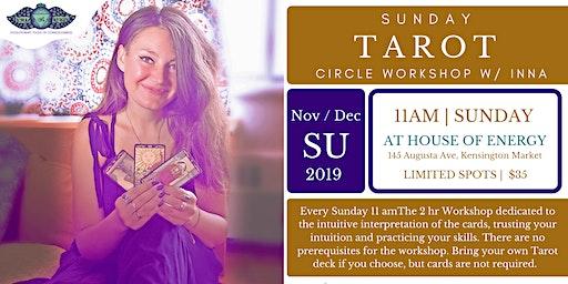 Tarot Circle Sunday's w/Inna