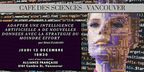 """Rémi Flamary - """"Adapter une Intelligence Artificielle à de nouvelles données avec la stratégie du moindre effort."""" tickets"""