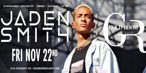 Jaden Smith FRIDAY Night Hip Hop Gold Room