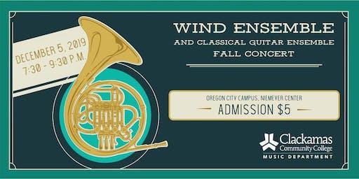 Classical Guitar + Wind Ensemble - 12/5/19