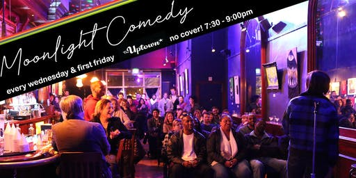 Moonlight Comedy: No Cover Comedy & Dance Party