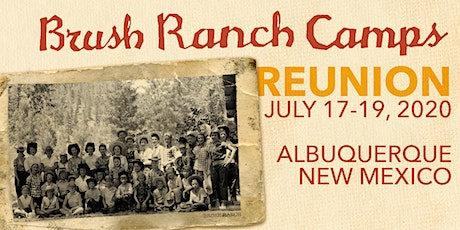 2020 Brush Ranch Camps Reunion tickets