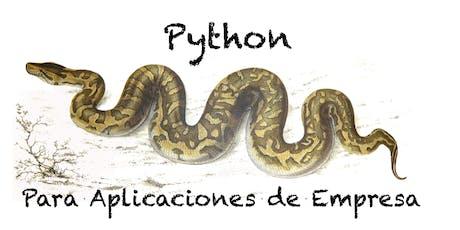 Python Para Aplicaciones de Empresa tickets