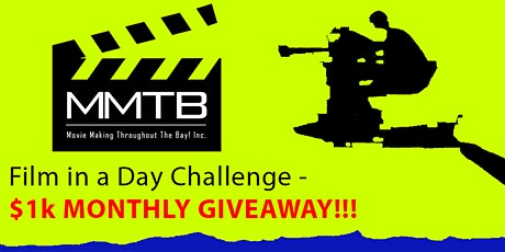 SANTA ROSA-'Film n a Day' Actors/Dirctors Challnge/Potluck- $1,000 Giveaway tickets