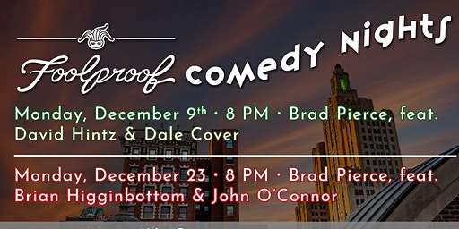 December Foolproof Comedy Nights @ The Rooftop