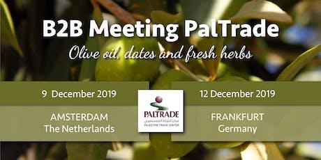 B2B meeting Palestijnse producten: olijfolie, dadels en kruiden - Amsterdam tickets