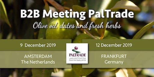 B2B meeting Palestijnse producten: olijfolie, dadels en kruiden - Amsterdam