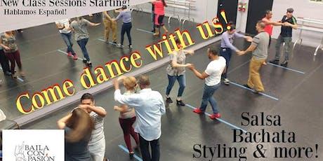 Beginning Salsa Levels I & II with Academia de Baila Con Pasión tickets