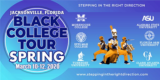 Black College Tour: Jacksonville Florida March 10-12, 2020