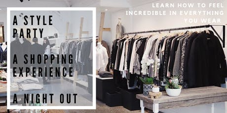 It's Not You, It's Your Clothes!  A party and style education session. tickets