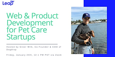 Web & Product Development for Pet Care Startups tickets