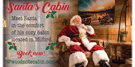 Santa at Woodnote Cabin! tickets