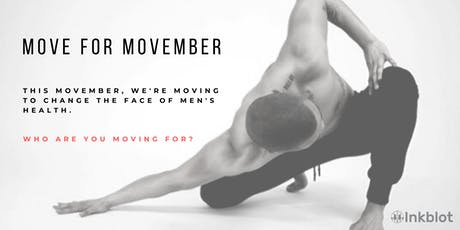 Move for Movember tickets
