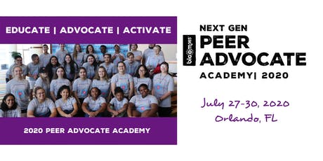 BLOOM365 Next Gen Peer Advocate Academy tickets