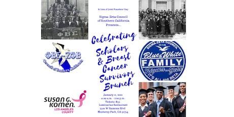 Scholars and Breast/Prostate Cancer Survivors Brunch tickets
