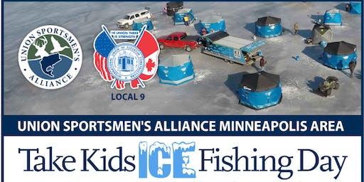 Take Kids Ice Fishing