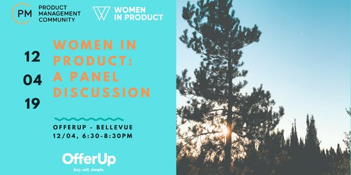 PMC / Women in Product: Panel & Networking Event