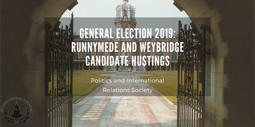 General Election 2019: Runnymede and Weybridge Candidate Hustings