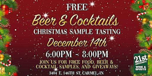 Christmas Beer & Cocktail Tasting