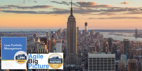 NYC - Lean Portfolio Management with LPM Certification tickets