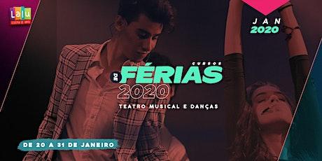 Cursos de Férias da Lalu | Teatro Musical & Danças | Janeiro 2020 ingressos