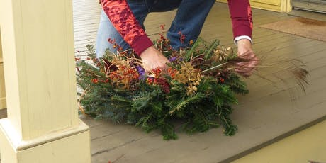 Nature's Gift to Christmas - Historical Holiday Wreath Decorating tickets