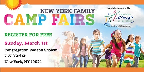 New York Family Camp Fair Upper West side tickets